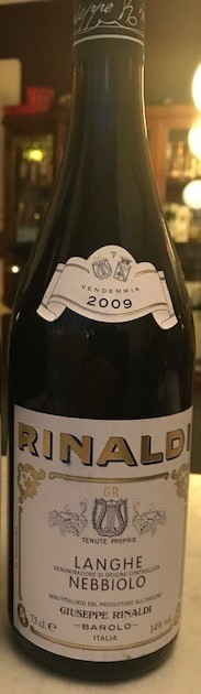 Nebbiolo - Giuseppe Rinaldi - SOLD OUT